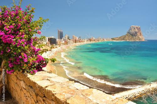 Valokuvatapetti Colorful Mediterranean seascape