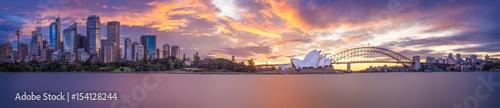 Photo Sydney Harbour panorama