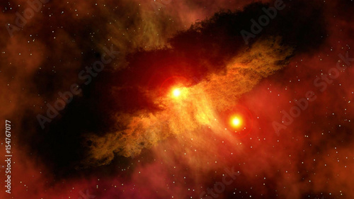 Stunning outer space planet sun astrology milky way solar system galaxy universe. Elements of this image furnished by NASA.