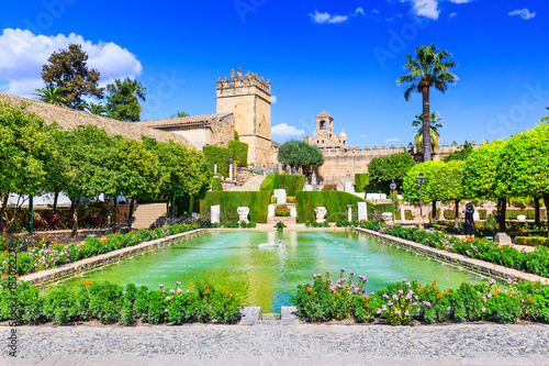 Cordoba, Spain. Alcázar de los Reyes Cristianos (Castle of the Christian Monarchs)