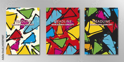 Minimal covers design Fototapet