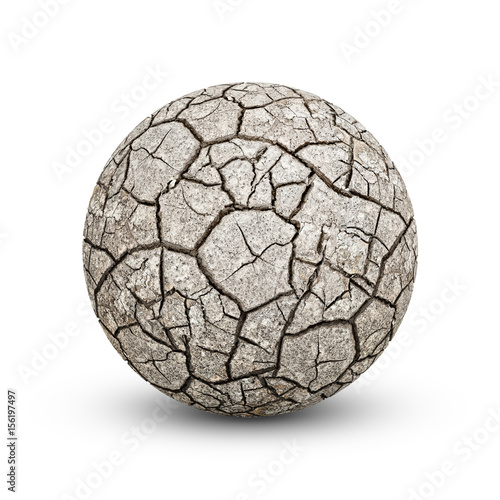 Texture cracked, dry the surface of the earth. Earth  turned into a desert. Global warming, drought.