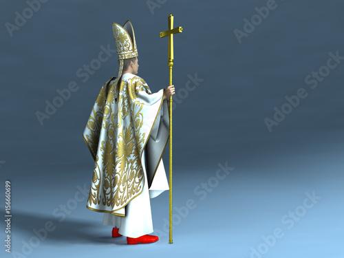 Obraz na płótnie Papa de la Iglesia Católica