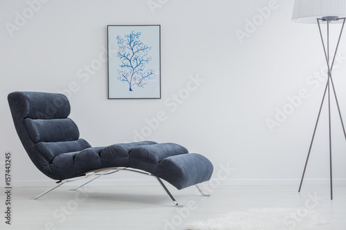 Photographie Monochromatic and simple interior