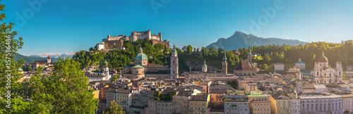 Fototapeta premium Panorama Salzburga