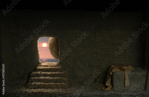 Fotografia Jesus's empty tomb
