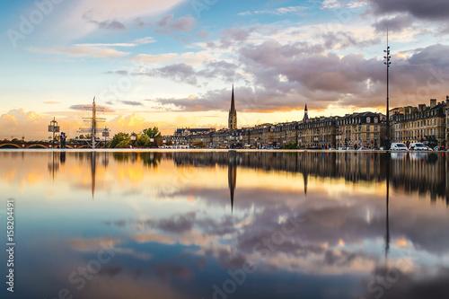 Obraz na płótnie Miroir d'eau Bordeaux