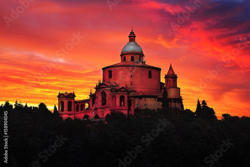 Fotografie, Obraz Sanctuary of S. Luca Bologna