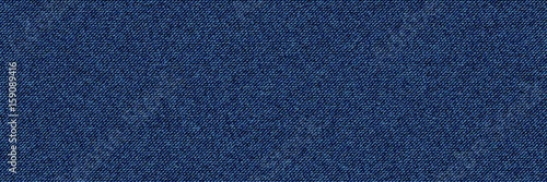 Canvas Print Blue Denim Textile background Illustration