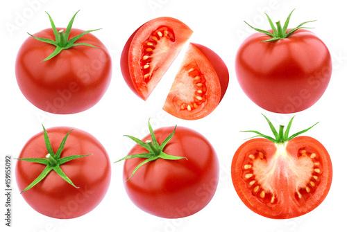 Obraz na plátně Tomatoes isolated