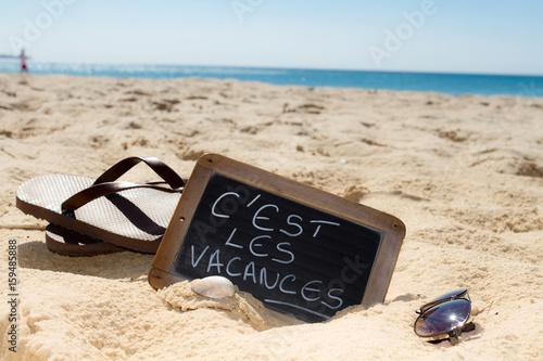 c'est les vacances