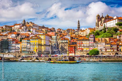Fotografie, Obraz Porto, Portugal Skyline
