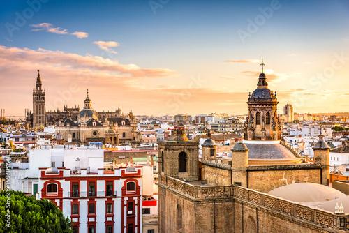 Fototapeta premium Sewilla, Hiszpania Skyline