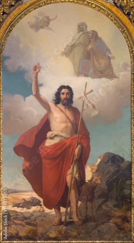 Obraz na płótnie TURIN, ITALY - MARCH 13, 2017: The painting of St