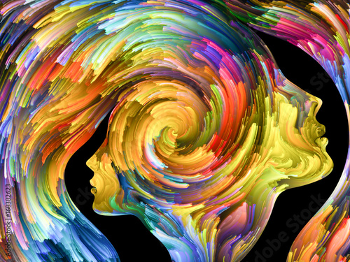 Photo Abstract Portrait