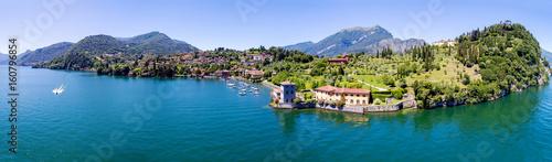 Canvas Print Bellagio - Pescallo - Lago di Como (IT) - Parco e Villa Serbelloni - Rockefeller