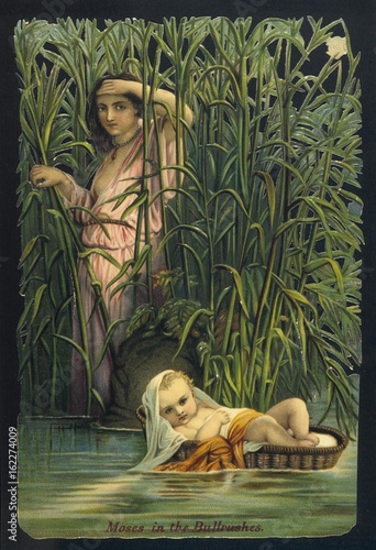 Obraz na płótnie Moses Cast Adrift