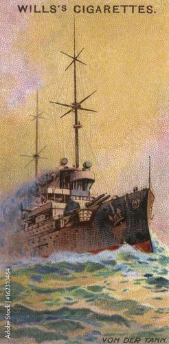 Fotografia Von Der Tann Cruiser. Date: launched 1909