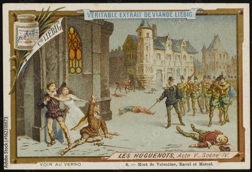 Fotografia Meyerbeer - Huguenots. Date: 1836