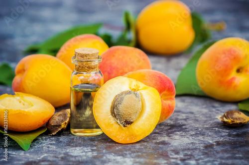 the apricot kernel oil. Fototapeta