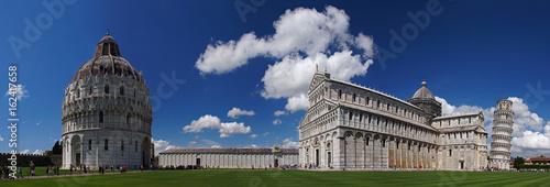 Stampa su Tela Pisa - Piazza dei Miracoli [Platz der Wunder]