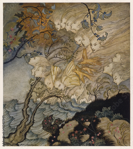 Photo Shakespeare - the Tempest. Date: 1909