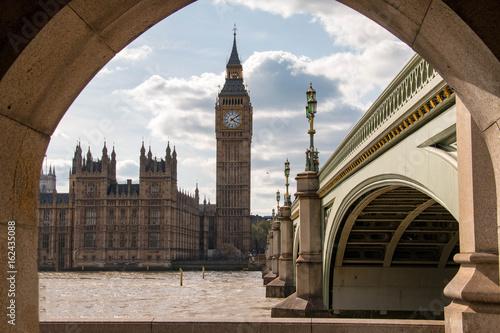 Fototapeta Palace of Westminster and Big Ben, London