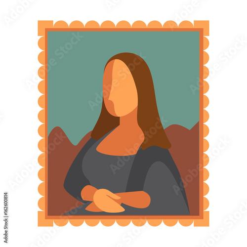 Photo Minimal Mona Lisa picture