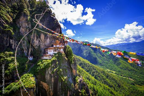 Photo Taktshang Goemba, Tiger nest monastery, Bhutan