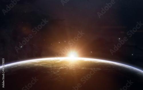 Wallpaper Mural Beauty of Earth sunrise