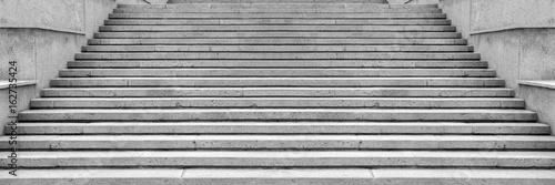 Old Granite stairs steps background - construction detail. Fototapeta