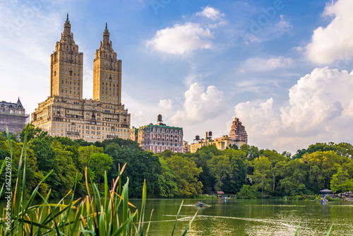 Fotografia Central Park New York City looking towards the Upper West Side.