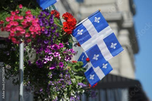 Fototapeta premium Flaga prowincji Quebec