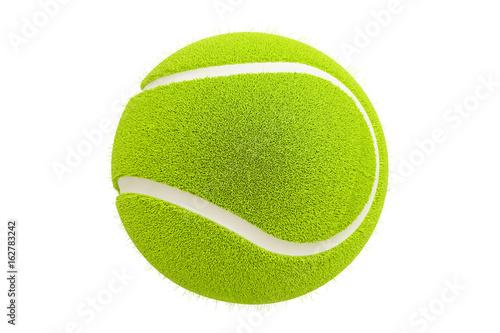 Canvas Print Tennis ball, 3D rendering