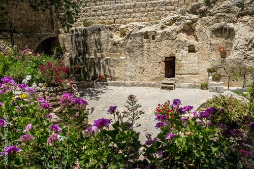 Fotografia The Garden Tomb in Jerusalem, Israel
