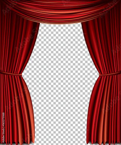 Fotografia Red curtain