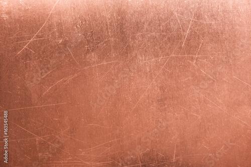 old metal plate, brushed texture copper, bronze background Tapéta, Fotótapéta