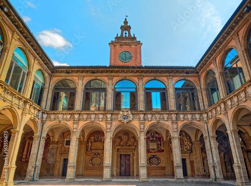 Fototapeta Archiginnasio Bologna Facade