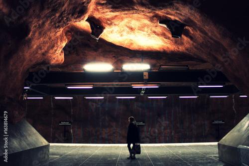 Fotografia Waiting for the subway
