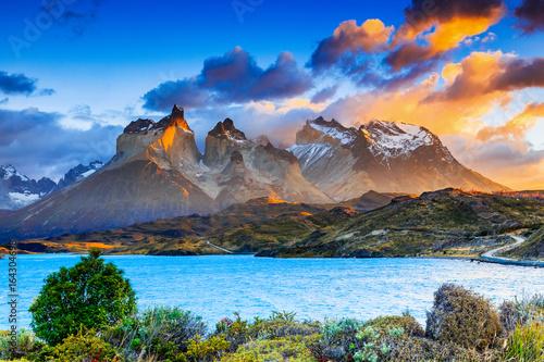 Tablou Canvas Torres Del Paine National Park, Chile.