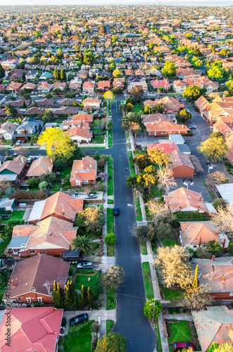 Photo Residential homes in a south eastern suburb of Melbourne