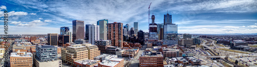 Fotografia Downtown Denver Pano Southeast