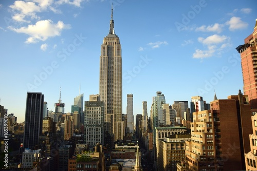Canvas Print empire state building