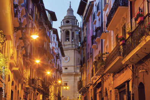 Catedral de Santa Maria in Pamplona Fototapeta