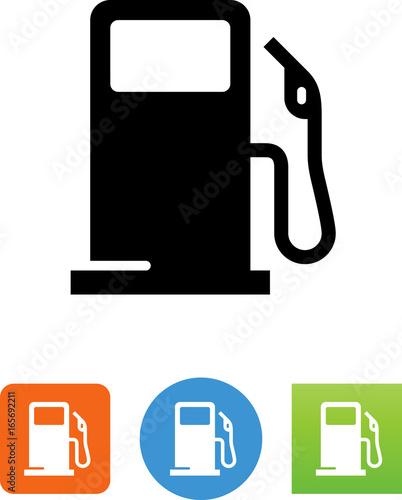 Fotografie, Tablou Fuel Pump Icon - Illustration