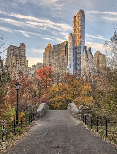 Fotografia Gapstow bridge Central Park, New York City