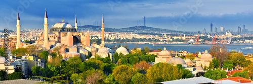 Valokuvatapetti Hagia Sophia museum (Ayasofya Muzesi) in Istanbul, Turkey