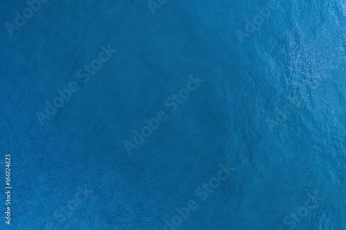 Obraz na plátne Water texture aerial image