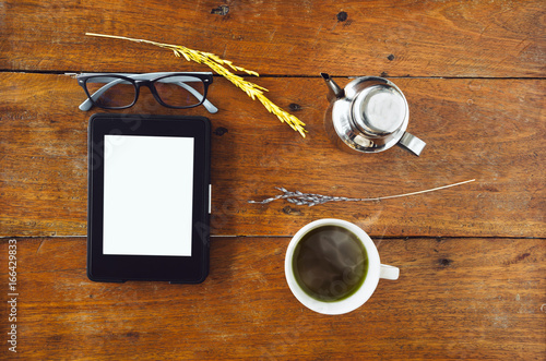 Photo E-Book, E-reader With Glass
