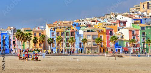 Fotografia Panoramic view of colorful Villajoyosa in Andalusia, Spain